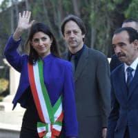 """Trattati Roma, Grillo grida alla censura: """"Il Tg1 ha oscurato il discorso di Raggi"""""""