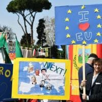 Trattati di Roma, i leader Ue in Campidoglio. Manifestazioni al via, sequestrati