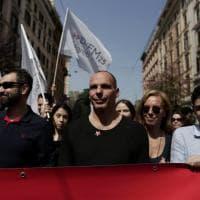 Da Varoufakis a Camusso: leader in piazza al corteo La Nostra Europa
