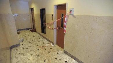 Precipita ascensore in un palazzo  ferito un giovane di 30 anni