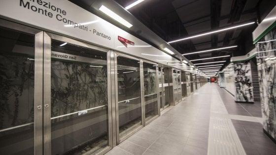 Roma, tra anfore e statue ecco la stazione San Giovanni della metro C