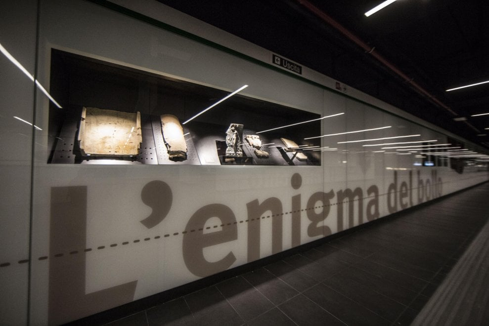 Roma, il Viaggio nel tempo nella nuova stazione San Giovanni della Metro C