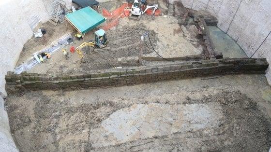 Lavori  metro C a Roma, scoperto acquedotto romano sotto al Celio