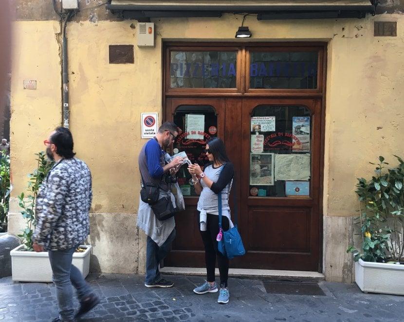 Roma, se na va Baffetto: il re della pizza del centro storico