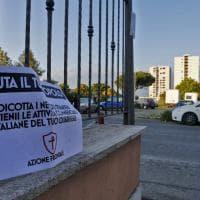 Roma, Azione Frontale contro i negozi degli immigrati. Il blitz a Tor Bella Monaca