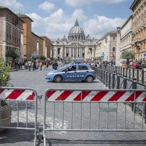 Pasqua a Roma, Basilica di San Pietro super blindata