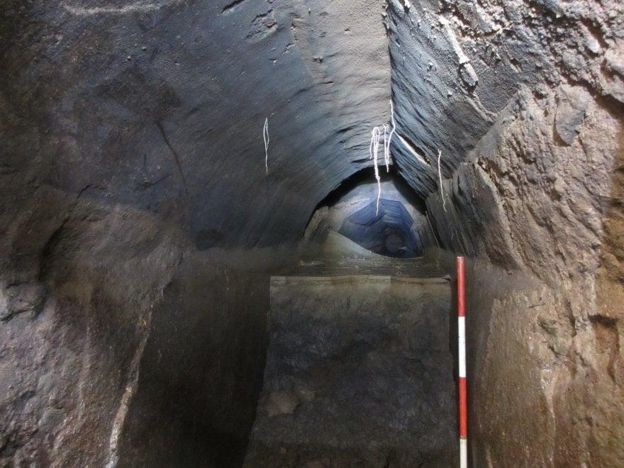 Roma, il cunicolo segreto dell'acquedotto Appio