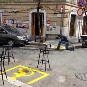 """""""Pedana per disabili fuorilegge"""": vigili chiudono locale per tre giorni al Pigneto"""