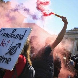 Roma, scontri con CasaPound: tornano in libertà 13 antagonisti