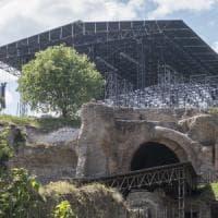 """Roma, polemica per il kolossal su Nerone al Palatino. Ferretti: """"Nessun danno ai monumenti"""""""