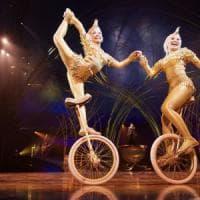 Roma, le sirene acrobate del Cirque du soleil sotto il maxitendone di Tor di Quinto
