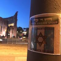 Roma, 25 aprile: in centro spuntano i manifesti della Brigata ebraica