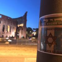 25 aprile, a Roma e Milano manifesti della Brigata ebraica
