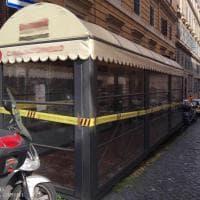 Roma, scoperto all'Esquilino dehors abusivo in un ristorante