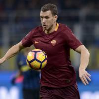 Roma, Dzeko punta Totti: caccia al gol 26 contro i cugini