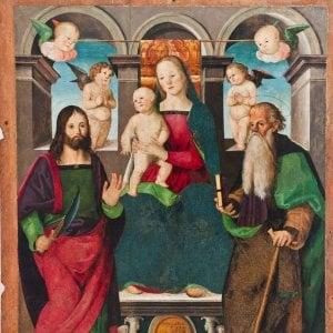 Roma, il premier Gentiloni in vista alla mostra Dai Crivelli a Rubens