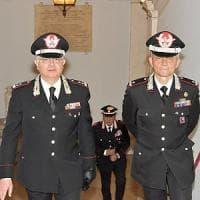 Roma, il saluto del generale Agovino al comando provinciale