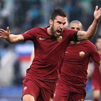 """Roma, Strootman: """"Resto e spero che ci sarà anche Spalletti"""""""