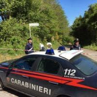Castel San Pietro Romano, corpo crivellato di colpi trovato in strada