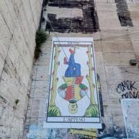 Roma, a San Lorenzo la risposta agli striscioni di Forza Nuova su Mussolini