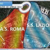 Derby Roma-Lazio, il questore ai tifosi: