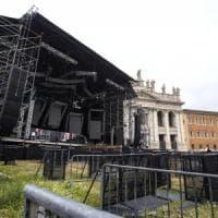 Concertone primo maggio, area rossa e metal detector a Roma