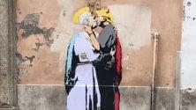 Papa Francesco  foto  bacia il 'diavolo' Trump