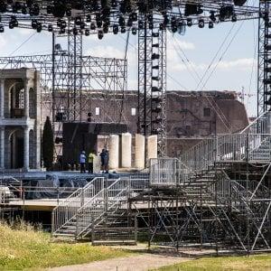 """Musical sul Palatino, l'archeologo Coarelli:  """"Sul tempio di Eliogabalo camion, gru e tiranti scandalo internazionale"""""""