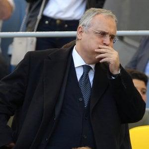 """Lazio, Lotito ai giocatori: """"Grande stagione ma adesso basta con il tabù Juve"""""""