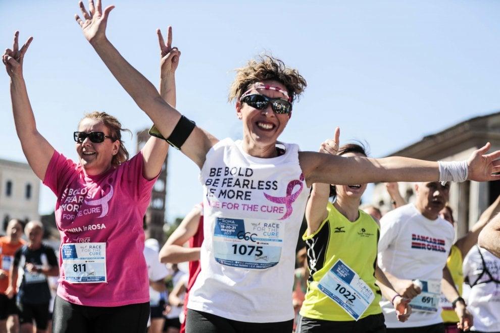 Race for the cure Roma, in 60 mila alla corsa della solidarietà