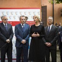 Trump a Roma, la figlia del presidente Ivanka in visita alla comunità di  Sant'Egidio