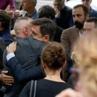 Via Gallia, i funerali della 16enne investita sabato a Porta Metronia