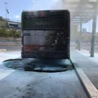 Roma, a Ponte Mammolo un altro bus a fuoco