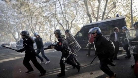 Guerriglia a Roma nel 2012, chiesto processo per 7 manifestanti