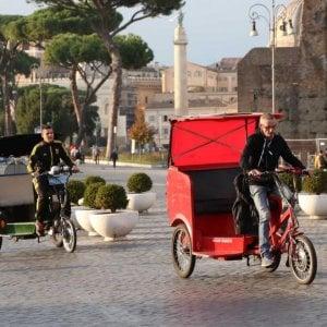 Roma, Consiglio di stato conferma lo stop ai risciò