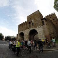 Roma, prove generali per il Parco delle Mura a viale Castrense