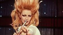 Patty Pravo sul palco    foto      dei Racconti di Fantàsia