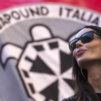 Casapound scende in piazza a Roma, in migliaia al corteo contro lo ius soli