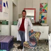 Roma, a Montemario la bottega che trasforma in design gli oggetti da buttare