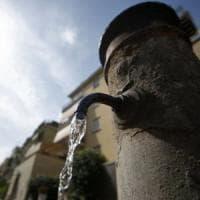Siccità, Acea valuta ipotesi di chiudere i 'nasoni' di Roma