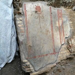 Roma come Pompei, scoperta casa romana di legno. Intatte parti di solaio, mobili, mosaici e affreschi