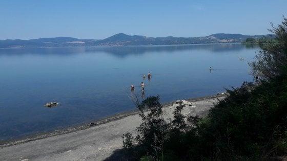 Siccità, l'Osservatorio diminuisce i prelievi dal lago di Bracciano