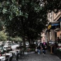 Roma, paura per la caduta di alberi. In viale XXI aprile, un'auto danneggiata