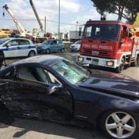 Latina, incidente sull'Appia: due feriti, uno gravissimo