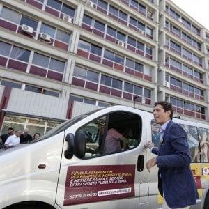 """Trasporti Roma, la campagna dei Radicali: nasce la nuova linea """"R"""""""