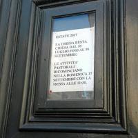 Roma, la chiesa va in ferie: