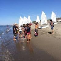 Pescia Romana, quella scuola di vela che insegna a vivere