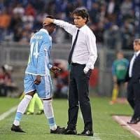 Lazio, confronto nello spogliatoio per placare l'insofferente Keita