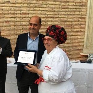 Roma, i premi delle Guide di Repubblica all'enogastronomia laziale. Tra i vincitori, la chef Anna Dente