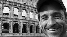 Al Colosseo il selfie  di Patrick Dempsey